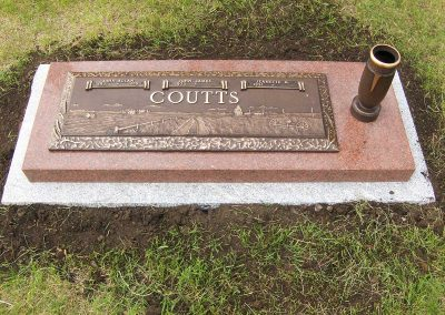 Bronze Marker Coutts