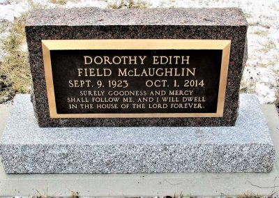 Bronze Marker McLaughlin