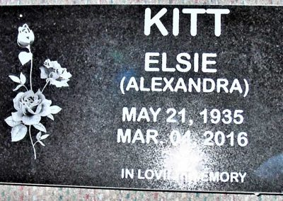Flat Marker Single Kitt-Elsie