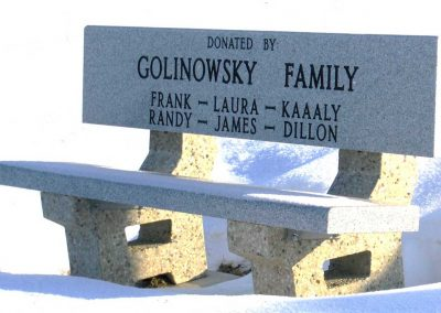 Signs, Benches and Misc: Golinowsky