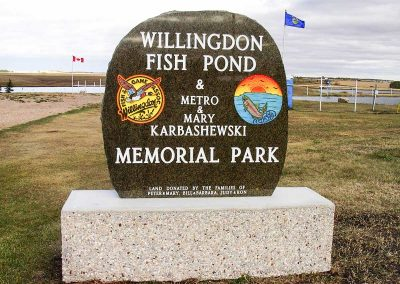 Signs, Benches and Misc-Willingdon-Fish-Pond